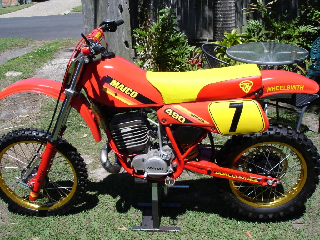 1983 Maico After