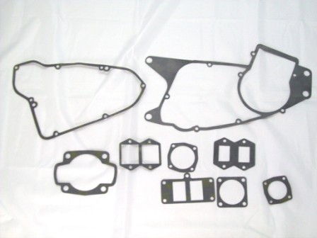 1974-1977 Husqvarna CR WR 250 Complete Engine Gasket Kit