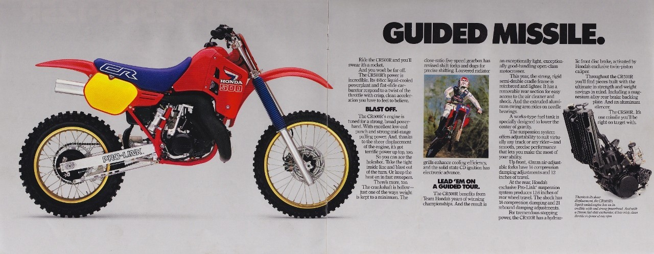 who here had the pleasure of riding a 500 two-stroke? - moto