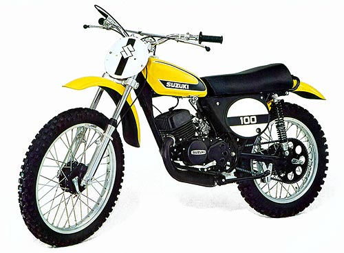 1974/1975 Suzuki TM 100 Plastic Kit