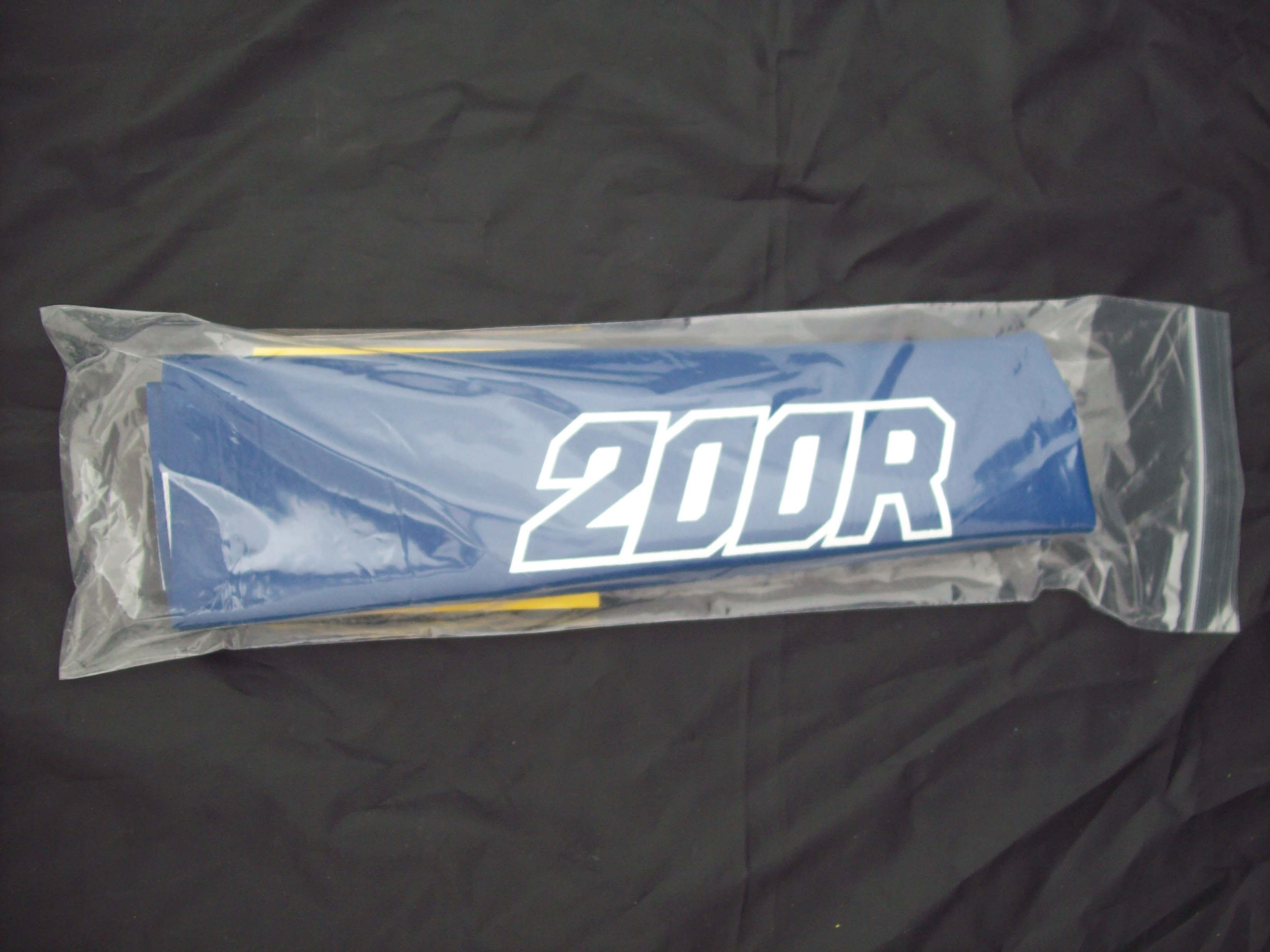 1986-1995 Honda XR 200R Seat Cover Blue