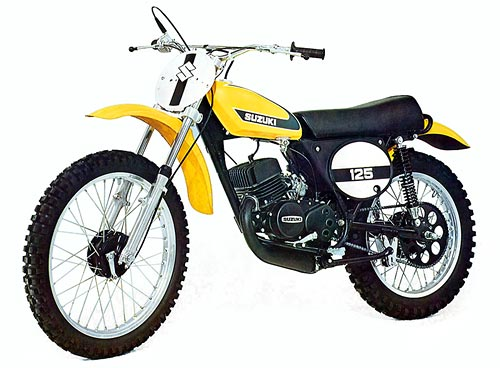 1973-1975 Suzuki TM 125 Plastic Kit