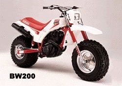 1985-1988 Yamaha BW 200 BW200 Big Wheel Plastic Kit