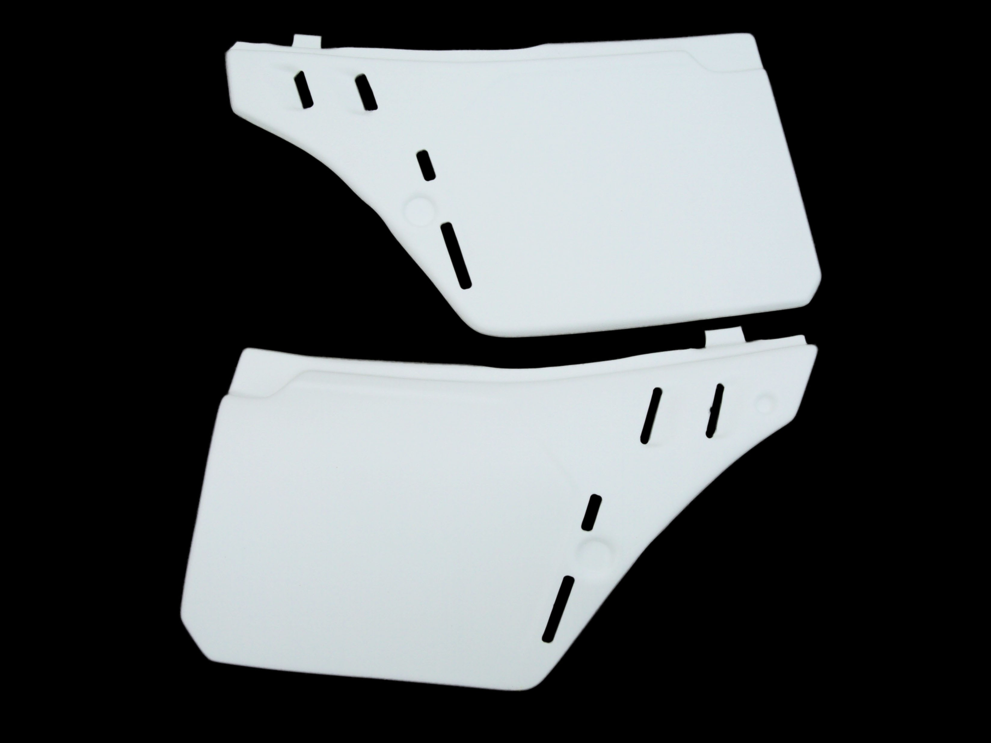 1989 Cagiva WMX 250 Side Panels Number Plates White