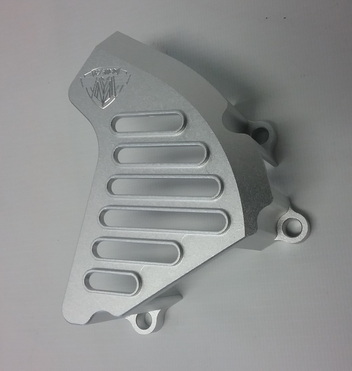 New Reproduction Sprocket Cover Silver that fits the 1978-1982 Maico