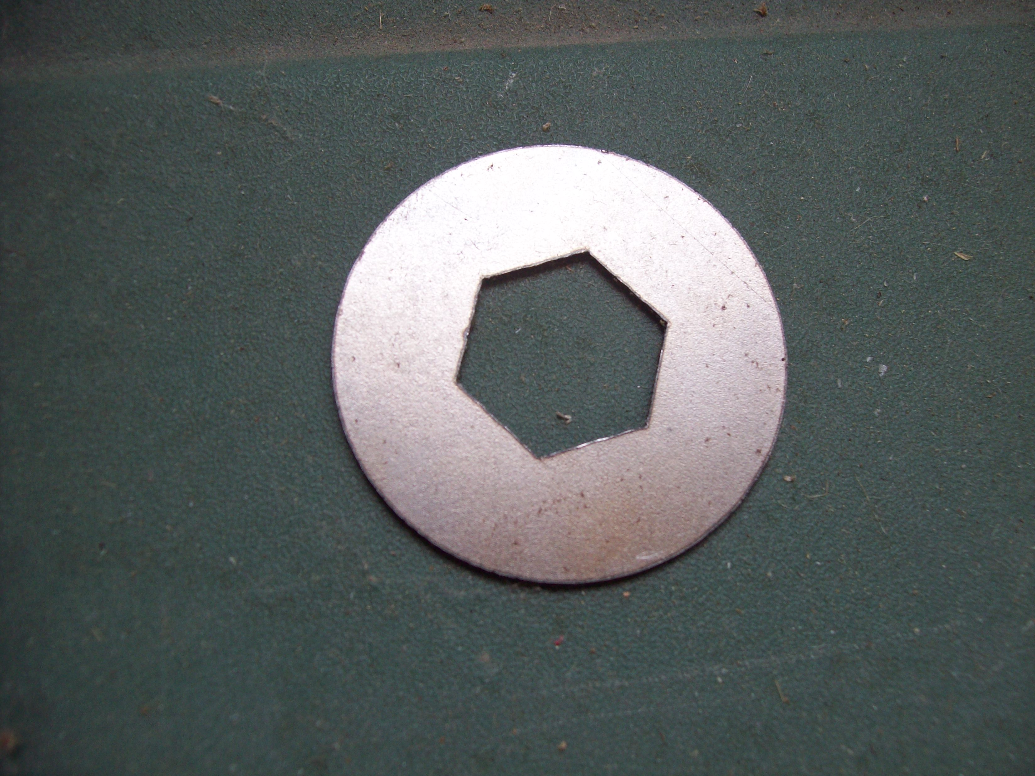 New Reproduction Clutch Nut Lock Tab Washer that fits the 1968-1982 Maico