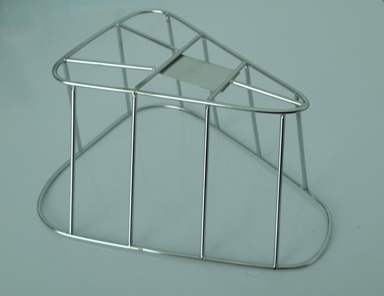New Reproduction Stainless Steel Air Filter Cage that fits the 1982-1987 Maico