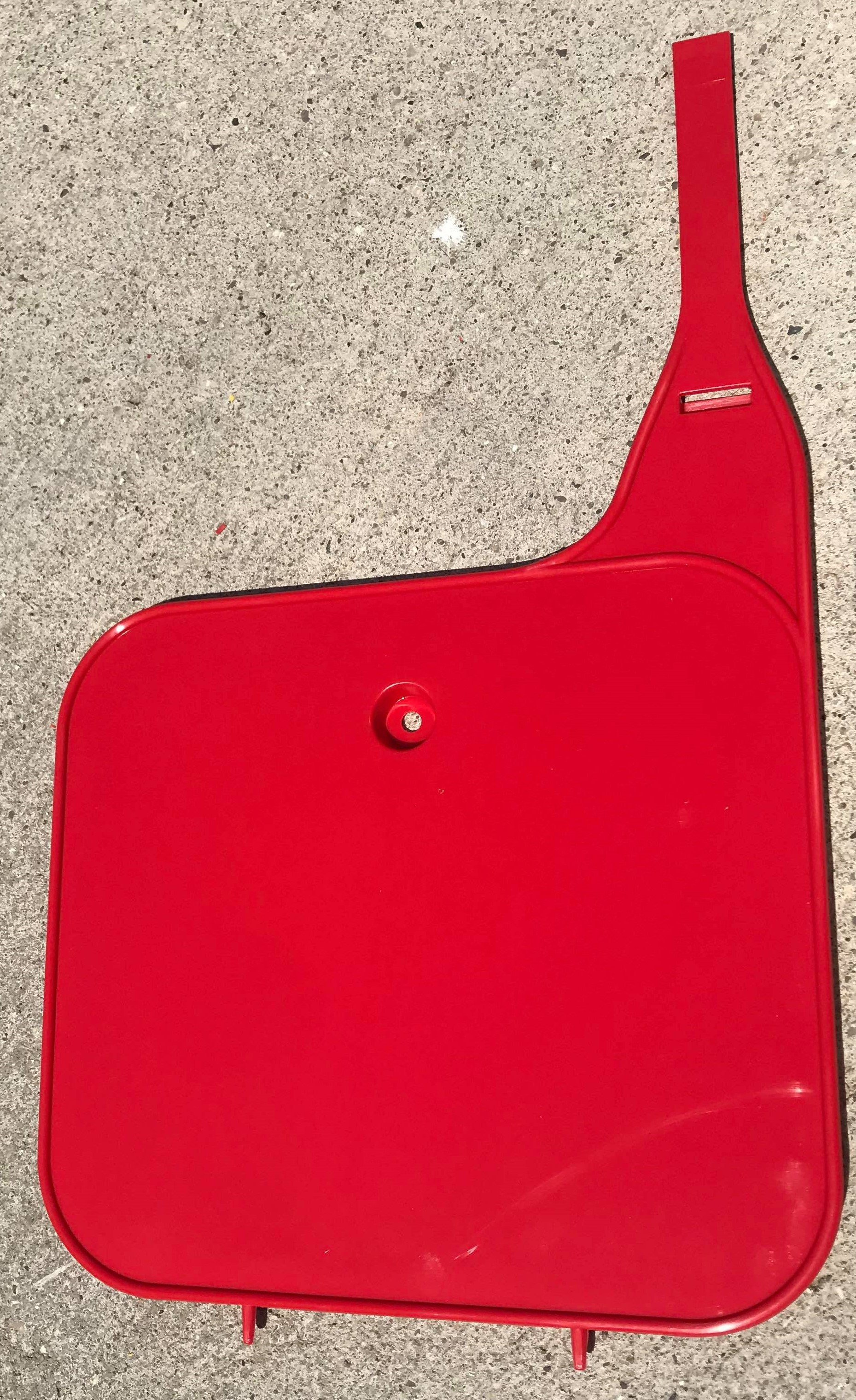 1982 Honda CR 125 250 480 Front Number Plate Gloss Tahitian Red