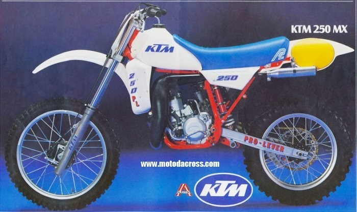 1983 KTM MC 250 Plastic Kit