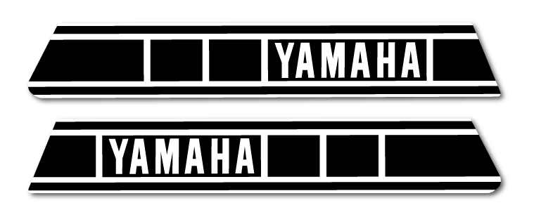1980 Yamaha IT 250 425 Tank Decals