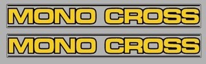1982-1986 Yamaha IT 175 200 250 465 490 Monocross Swingarm Decals