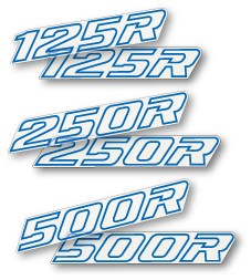 1990 Honda CR 125 250 500 Swingarm Decals - Select a model