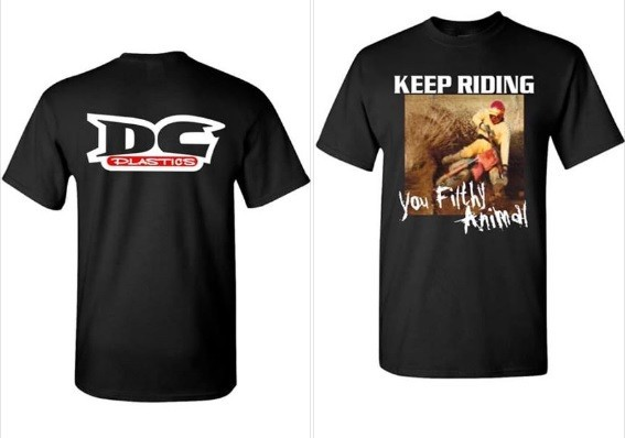 New Design DC Plastics Logo T Shirt