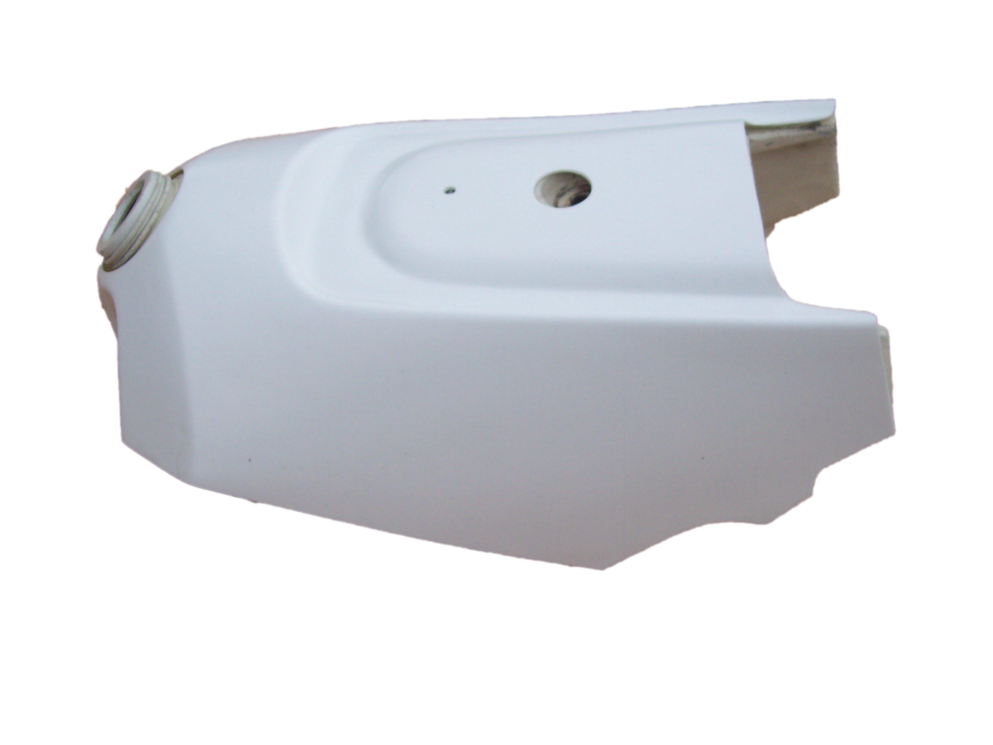 1988-1993 KTM LC4 Gas Tank Skin Cover White