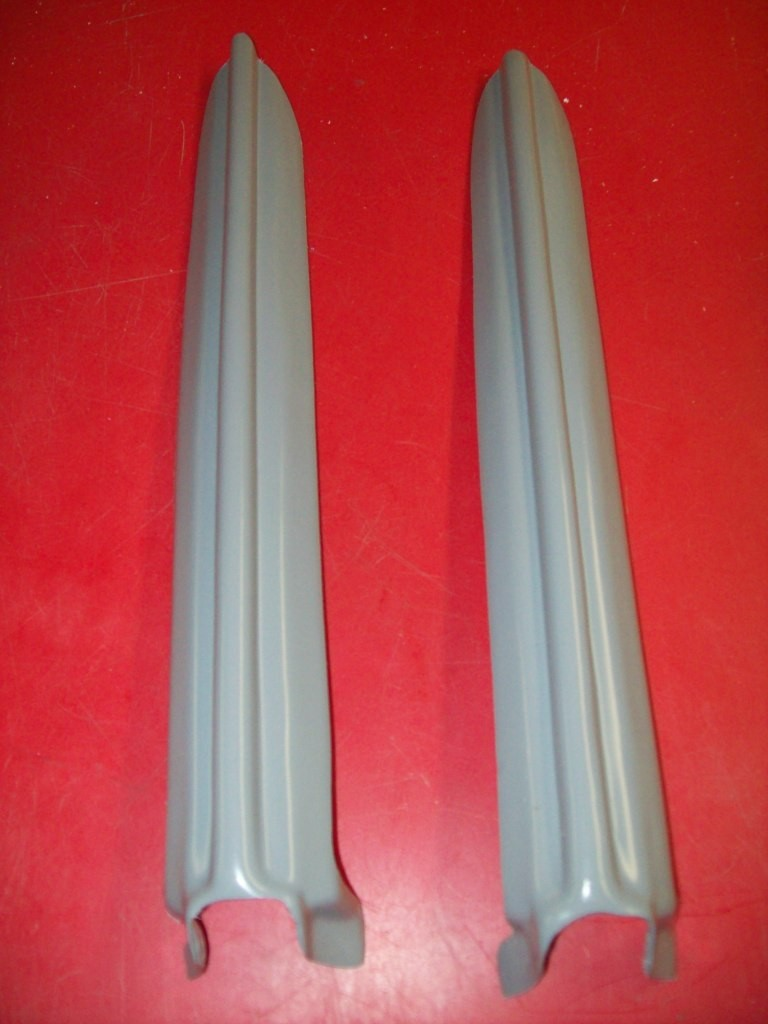 1988-1992 Honda CR 125 250 500 HRC Works Replica Fork Guards (no guides)