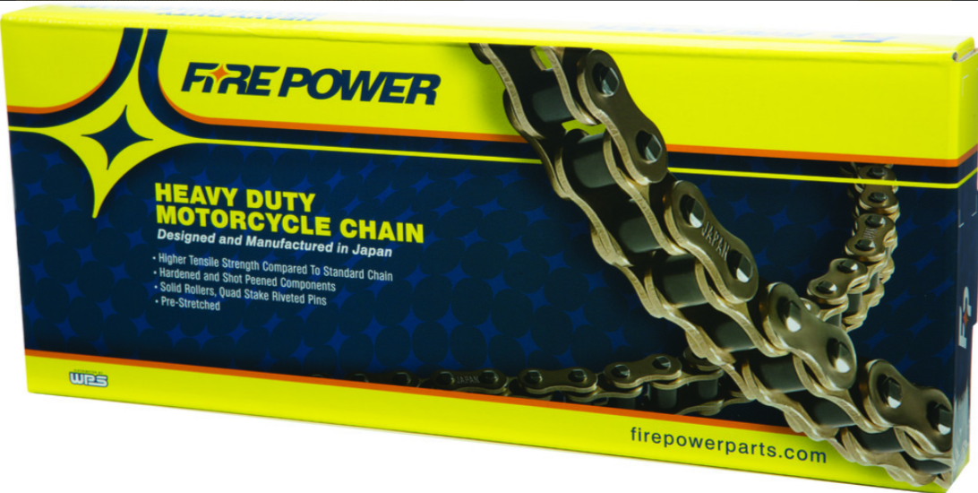 Fire Power 520 Heavy Duty Non-Oring Chain 120 Link