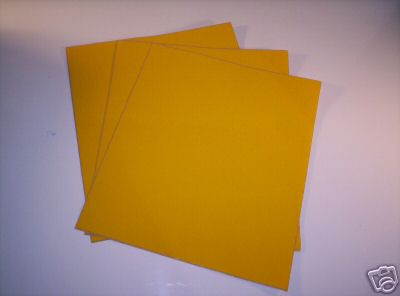 Universal Vintage MX Number Plate Background Sheets Yellow