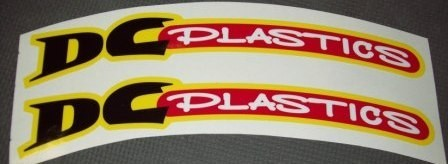 DC Plastics 16 Mil Heavy Duty Front Fender Decals