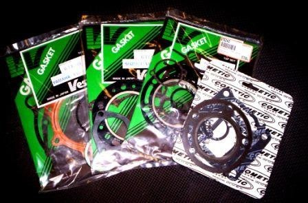 1990/1991 Kawasaki KX 125 Complete Engine Gasket Kit