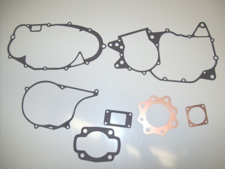 1973/1974 Honda CR 250 CR250 Complete Engine Gasket Kit