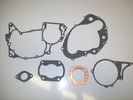 1976-1978 Honda CR 125 CR125 Complete Engine Gasket Kit