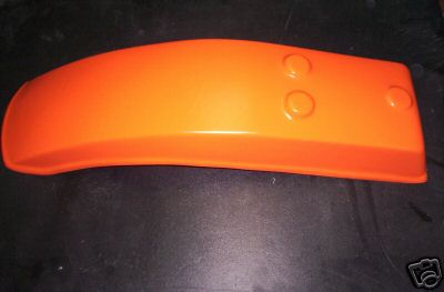 1978 Harley Davidson MX250 Rear Fender Orange