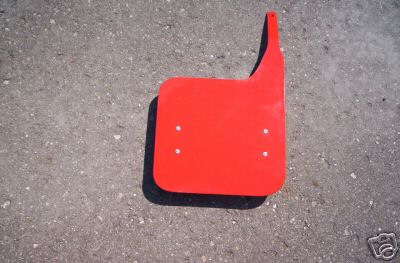 1981-1987 Honda CR 125/250/450/480/500 Front Number Plate