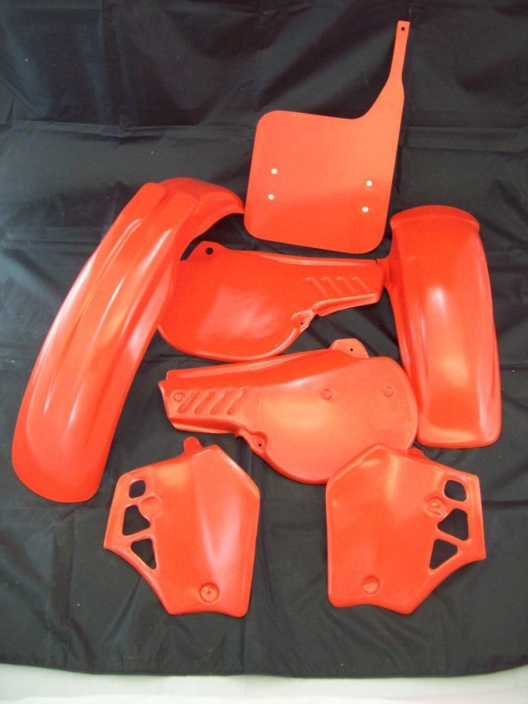 1983 Honda CR 250 Plastic Kit Flash Red