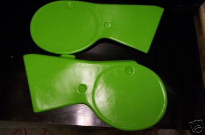 1979 Kawasaki KX 125 250 Side Panels Green