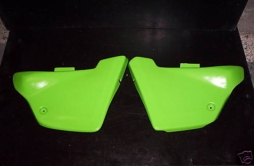 1979/1980 Kawasaki KDX 250 400 Side Panels Green