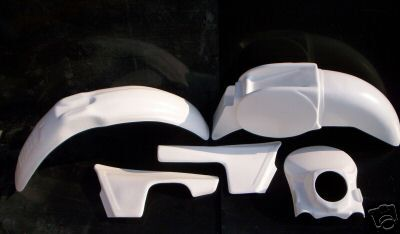 1981 KTM GS Enduro 125 250 495 Plastic Kit