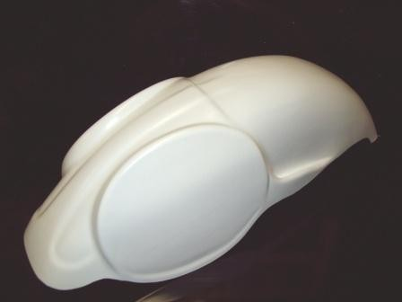 1981 KTM MC Rear Fender White