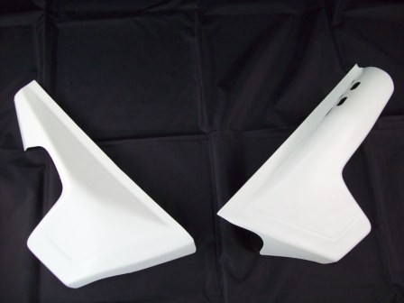 1981/1982 KTM LC 125 Side Panels White
