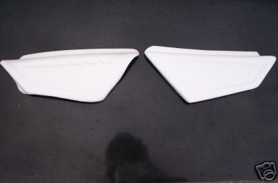 1983 KTM 125 250 Side Panels White