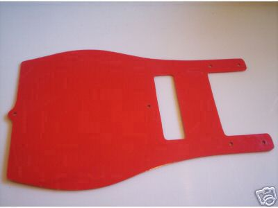 1982-1986 Maico Front Number Plate Red