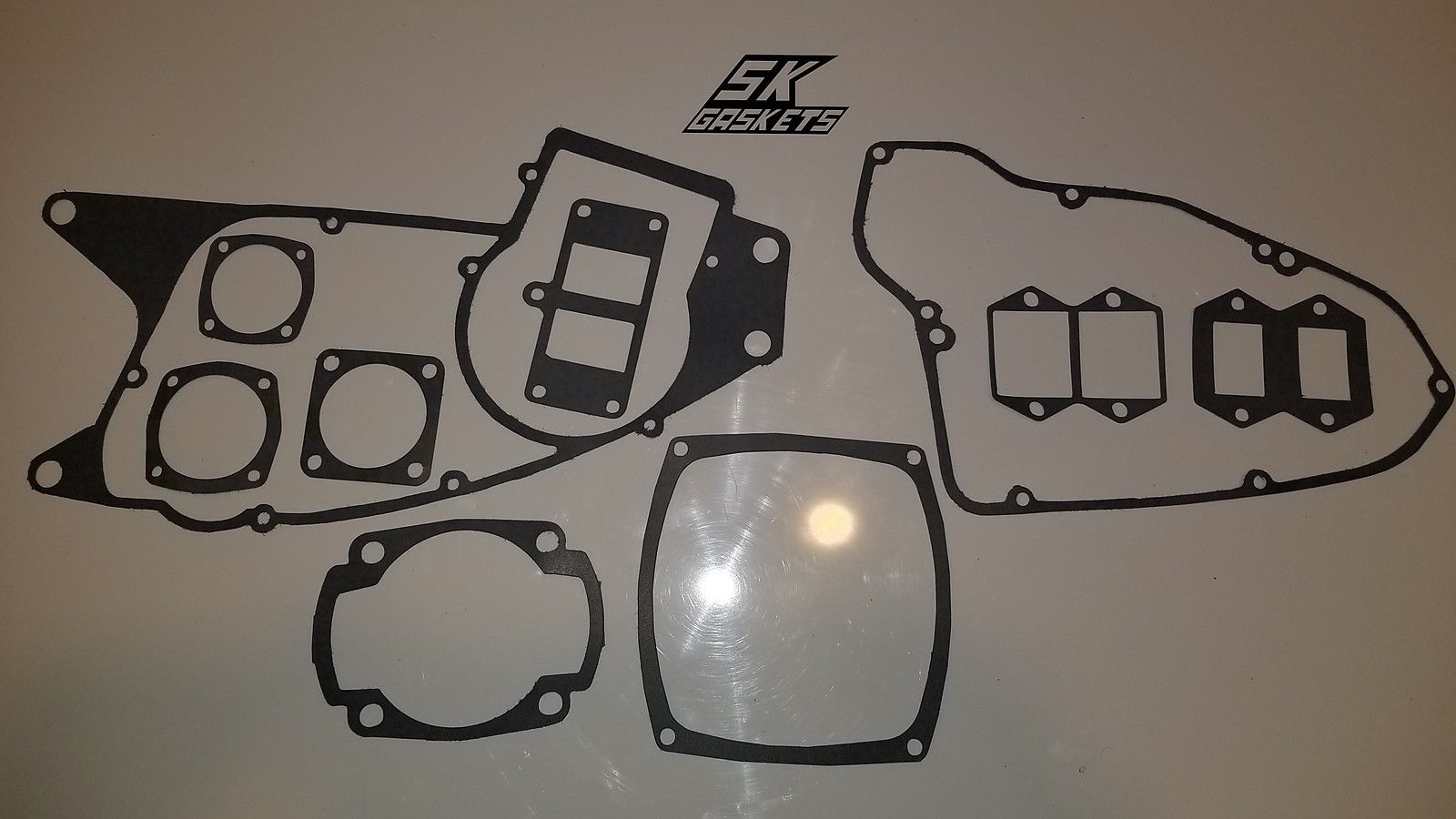 1977-1979 Husqvarna CR WR OR 390 Complete Engine Gasket Kit