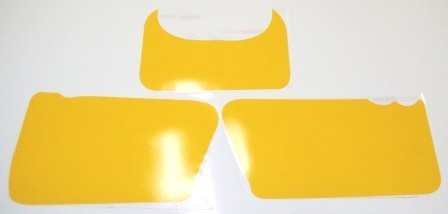 1981/1982 Honda XR 250 500 Number Plate Backgrounds