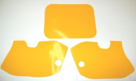 1984 KTM 125 250 495 Number Plate Backgrounds Yellow