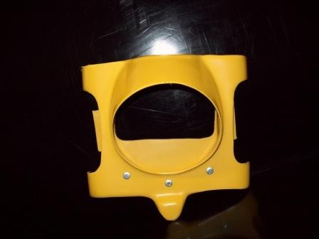 1978-1984 Suzuki PE 175 250 400 Headlight Holder Yellow