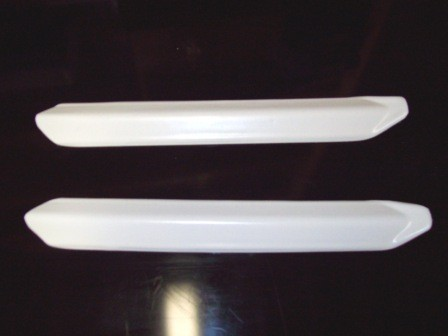 KTM Husqvarna Cagiva White Power WP Fork Guards for Upside Down Forks