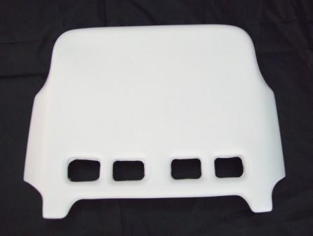 Universal Three Wheeler Front Number Plate