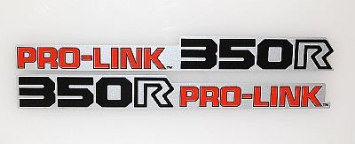 1983 Honda XR350 XR 350 Pro-Link Swingarm Decals