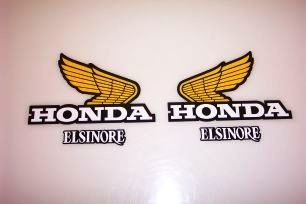 1980 Honda CR 250 Tank & Side Panel Decal Kit