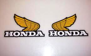 1983 Honda CR 125 250 480 Tank Decal Kit