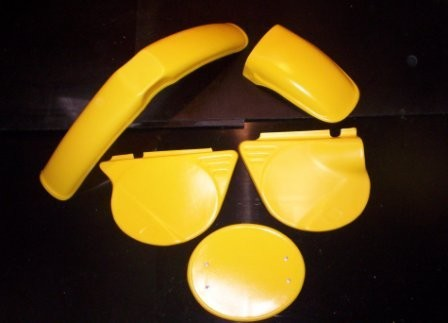 1975 Yamaha YZ 125 Plastic Kit Yellow