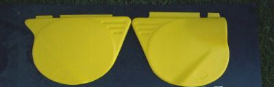 1974/1975 Yamaha MX 100 125 175, 1974 YZ 125 Side Panels
