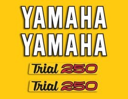 1974 Yamaha TY 250 Trials Decal Kit
