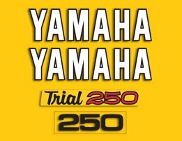1975 Yamaha TY 250 Trials Decal Kit