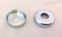 New Reproduction Swingarm Pivot End Caps that Fit 1976 1977 Maico 250 400
