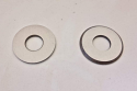 New Reproduction Swing Arm Pivot End Cap Thrust Washer pair that fit 1976 1977 Maico 250 400